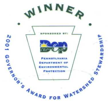 2001 Governor's Award for Watershed Stewardship